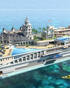 Luxury Super Yacht Inspired By The Streets Of Monaco