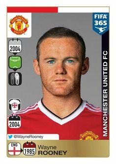Panini 365: Gold Sticker - Wayne Rooney