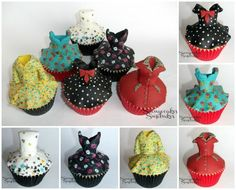 Cake Masters Mini Vintage Cupcake Dress Tutorial Collection