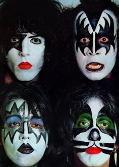KISS..... ahhhh Ace Freely was my crush when i was 7 years old lol i always like em weird.