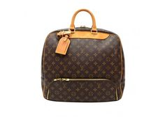 Louis Vuitton Evasion Monogram Canvas Large Travel Hand Bag