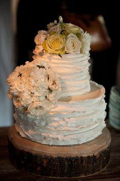 Wonderfully unfussy fancy cake.