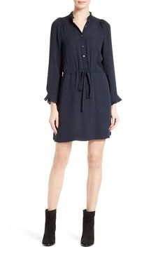 Rebecca Taylor Silk Georgette Shirtdress available at #Nordstrom