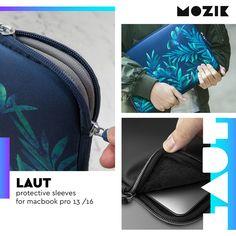 💻 #LAUT λεπτά, εργονομικά #sleeves με ενίσχυση πολυουρεθάνης, που απορροφούνε τους κραδασμούς και προστατεύουν αποτελεσματικά το #MacBook σου. Macbook Pro 13, The Prestige, Laptop Sleeves, Bags, Handbags, Bag, Totes, Hand Bags