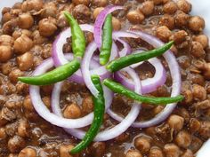 """Diwali Feast (Curried chickpeas, Dahibade): Named after its city of origin """"Rawalpindi"""" this dish is a big favourite in our house."""