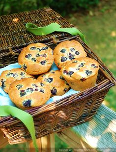 Alton Brown's Blueberry Muffins - Easy Family Recipes