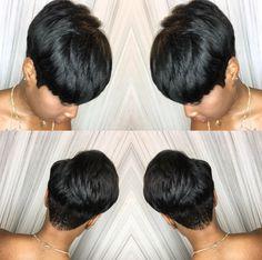 Flawless quick weave @hairbylatise - https://blackhairinformation.com/uncategorized/flawless-quick-weave-hairbylatise/