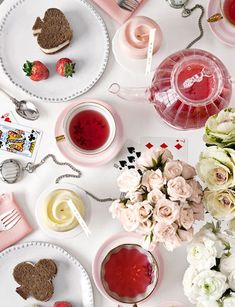 Valentine's Day Tea Party, Country Living