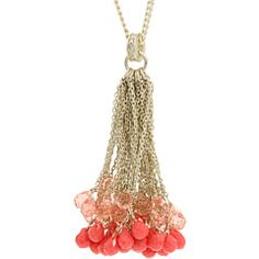 Juicy Couture - Briolette Tassel Necklace