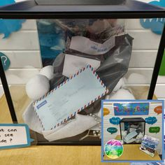 Early Years ideas from Tishylishy My Curiosity Cube with a letter from Polar Explorer Reggio Emilia Classroom, Eyfs Classroom, Classroom Decor, Curiosity Approach Eyfs, Curiosity Box, Heuristic Play, Divergent Thinking, Early Years Classroom, Tuff Tray