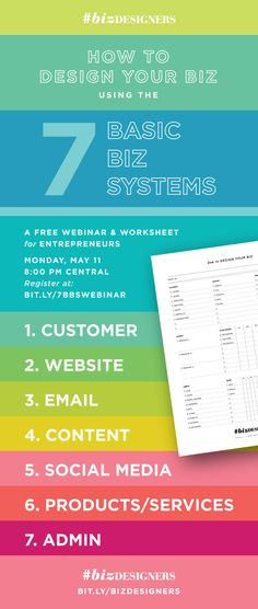 Of all the videos we released last week as a part of the #BizDesigners e-course launch, the one with the most questions was the video where I covered the 7 Basic Biz Systems. I've gotten a lot of questions about how to use the free printable planner worksheet that goes hand-in-hand with helping you track …