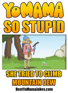 Yo mamma so stupid - cartoons - http://www.jokideo.com/
