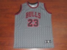 Chicago Bulls NBA Shirt  23 Michael Jordan Static Fashion Swingman Jersey Chicago  Bulls NBA Shirt  23 Michael Jordan Static Fashion Swingman Jersey d025600ef274