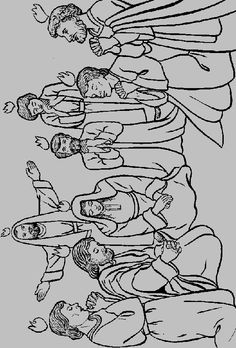 Holy spirit tongues of fire my prayer for today is holy for Pentecost coloring pages