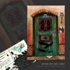 Mail Art, Painting, Painting Art, Paintings, Painted Canvas