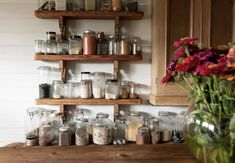 my scandinavian home: An Idyllic Farmhouse In Victoria, For a family of Five Glass Storage Jars, Jar Storage, Family Of Five, Black Barn, Big Garden, Farms Living, Creative Storage, Learning Spaces, Scandinavian Home