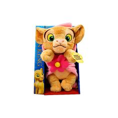 "::Toy Store Inc.:: Disney The Lion King Purring Nala 9"" Plush ❤ liked on Polyvore featuring stuffed animals and babies"