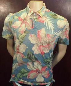 Polo Ralph Lauren Hawaiian Floral Shirt Short Sleeve Sz M Make a OFFER! $49