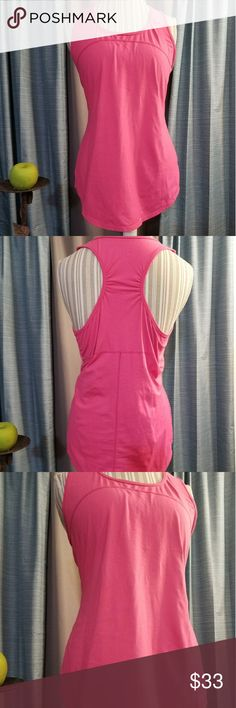 🌻🌺🌻ATHLETA RACERBACK TANK TOP!! SIZE:large   BRAND:Athleta   CONDITION:like new, no flaws    COLOR:pink  Has logo in the side at the bottom.   🌟POSH AMBASSADOR, BUY WITH CONFIDENCE!   🌟CHECK OUT MY OTHER ITEMS TO BUNDLE AND SAVE ON SHIPPING!   🌟OFFERS WELCOME!   🌟FAST SHIPPING! Athleta Tops