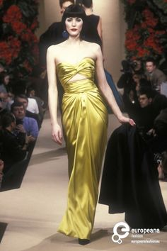 Yves Saint Laurent, Spring-Summer 1998, Couture