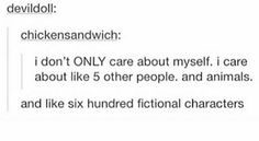 I'm a fangirl! I fangirl about things that aren't even fictional! Book Nerd Problems, Fangirl Problems, Funny Relatable Memes, Funny Posts, Funny Quotes, Book Memes, Book Quotes, Karma, Stupid Funny