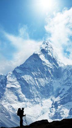 // Hiking In Himalayas, Nepal  