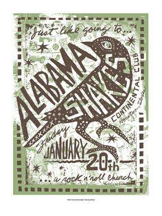 Alabama Shakes (also love the Carlos Hernandez poster!)