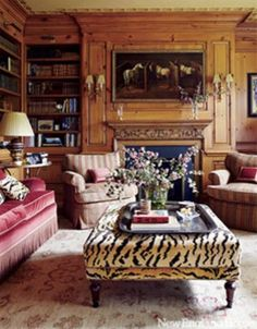 Interior designer Timothy Corrigan's Château du Grand-Lucé is for sale. This century chateau is located on 74 acres in France's Loire Valley! The chateau… Classic Decor, Classic Interior, Home Interior, Interior Decorating, Interior Design, Decorating Ideas, Classic Style, Design Interiors, Modern Interior