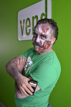 Zombie CEO. Should be the scariest thing imaginable! But somehow, it's nice.