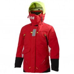 Helly Hansen Women's Offshore Race Jacket - Sailing Jacket coral