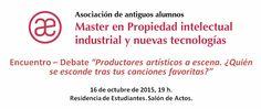 Encuentro-debate sobre propiedad intelectual del productor artístico (Madrid)
