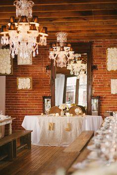 chandeliers + charm