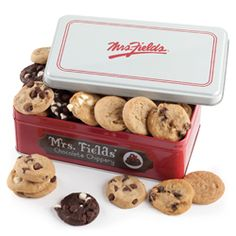 Mrs. Fields Classic Cookie Tins