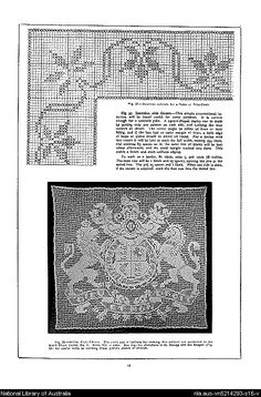 Mary Card's crochet book. no. 4 : containing designs & charts in the new filet crochet for Australian and New Zealand crochet workers.. - Page 15