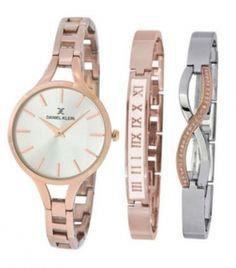 Daniel Klein Premium DK11428-3 női karóra karkötőkkel Daniel Klein, Gold Watch, Bracelet Watch, Jewelry Accessories, Watches, Bracelets, Women, Fashion, Wrist Watches