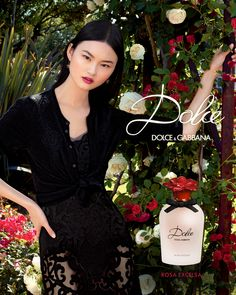 Discover the new visual for Dolce Rosa Excelsa. Embodying delicate innocence and femininity, Chinese model @heconghc incarnates the modern interpretation of the fragrance. #DGDolce #DGBeauty