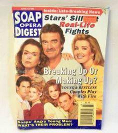 Soap Opera Digest Available in my eBay store! #soaps #soapoperadigest on ebay www.grammysbargains.com