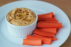 For the Love of Food: Spicy Sweet Potato Hummus