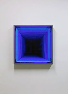'Decline' by Ivan Navarro, 2011 light neon square art Mirror Inspiration, Infinity Mirror, Light And Space, Contemporary Abstract Art, Light Installation, Land Art, Neon Lighting, Light Art, Cool Art