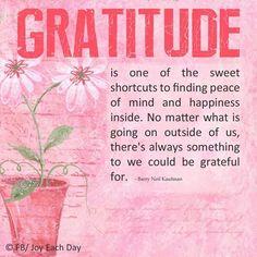 Gratitude - Express It Daily!