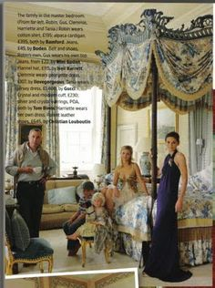 The Peak of Chic®: Appreciating John Fowler Linen Bedroom, Home Decor Bedroom, Master Bedroom, Bedroom Ideas, Bed Drapes, Canopy Beds, Canopies, Elsie De Wolfe, Bed Crown