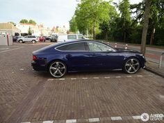 Audi Sportback in Hoorn, Netherlands Spotted on by SpottingGroupNL Future Concept Cars, S Car, Transportation Design, Audi Rs7, Luxury Cars, Autos, Fancy Cars