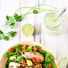 Good dressing makes your salad....Creamy Jalapeno Ranch by foodiebride, via Flickr