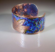 Flotante hoja listo para nave de pulsera brazalete cobre Cuff Bracelets, Etsy, Jewelry, Copper, Blade, Handmade Gifts, Hand Made, Jewlery, Jewerly