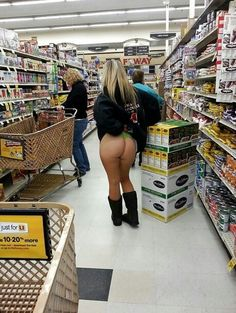 Images store ass nude women at grocery