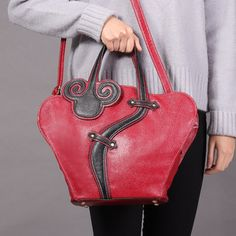 Women Retro Shoulder Bag Vintage Classic Chinese Style Crossbody Bag
