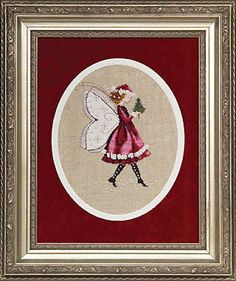 Cross Stitch Patterns 34032: 10% Off Mirabilia Nora Corbett L.E. Kit - The Christmas Elf Fairy -> BUY IT NOW ONLY: $44.99 on eBay!