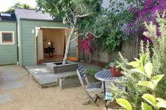 Fabulous garage conversion that opens up to landscaped private gardens! #Temescal #Oakland #GrubbCo