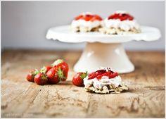 Törtchen Erdbeer Mascarpone weiße Schokocrossies selbstgemacht