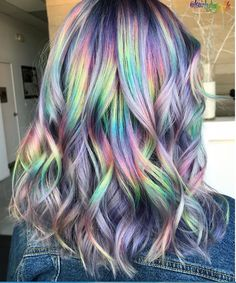 36 Awesome Women Rainbow Hair Colors Ideas Perfect For This Summer